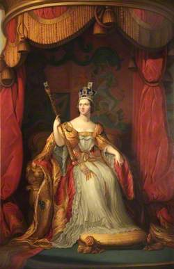 Queen Victoria (1819–1901), in Coronation Robes