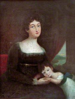 Mrs Jane Roscoe (1757–1824), and Her Son, William Stanley Roscoe (1782–1843)