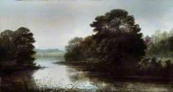 Landscape, Lake Scene