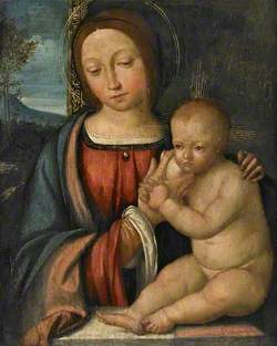 Madonna Suckling the Child