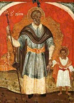 Saint Joseph and the Child Christ