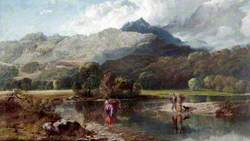 The Ford near Pont Aberglaslyn