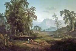 Landscape near Rome