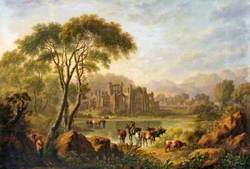 Landscape with Bolton Abbey