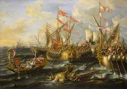 The Battle of Actium, 2 September 31BC