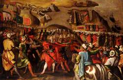 The Siege of Malta: Turkish Bombardment of Birgu, 6 July 1565