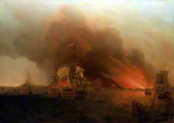 The Burning of Payta, November 1741