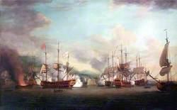 The Capture of Port Louis, Cuba, 8 March 1748