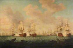 The Battle of The Saints, 12 April 1782