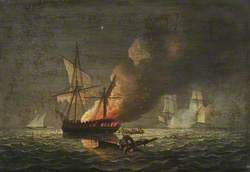 HMS 'Seahorse' Capturing the 'Badiri-i-Zaffer', 6 July 1808