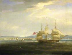 HMS 'Mercury' Cuts Out the French Gunboat 'Leda' from Rovigno, 1 April 1809