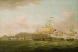 The Capture of Saint Paul near the Isle de Bourbon, 21 September 1809