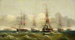 Action between the Danish and the Austrian Fleets off Heligoland, 9 May 1864