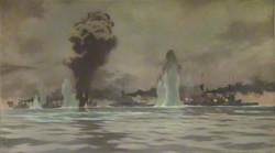 The First Battle Cruiser Squadron at the Battle of Jutland, 31 May 1916