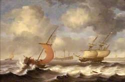 Dutch Ships in a Breeze