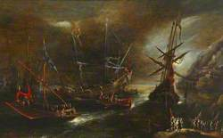 Embarkation of Spanish Troops