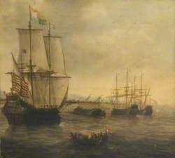 The Dutch Ship 'Eendracht'