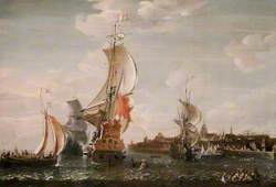 A Zeeland Ship and Other Dutch Vessels off Flushing