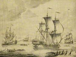 Dutch Whalers in the Ice