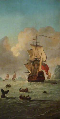 A Whaling Scene