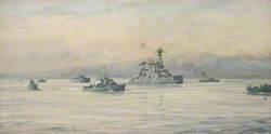 The Greek Cruiser 'Averoff' and Escorts