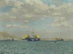 Vice-Admiral Vian's Flagship, HMS 'Scylla'