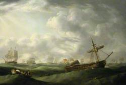 Loss of HMS 'Ramillies', September 1782: Ship Abandoned in Abating Storm