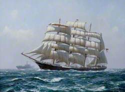 The Barque 'Garthpool'