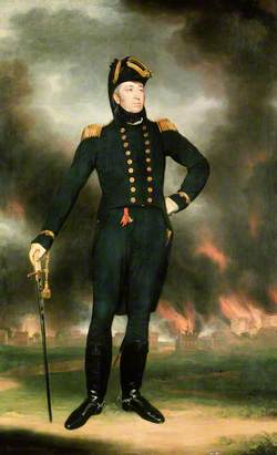 Rear Admiral Sir George Cockburn (1772–1853)