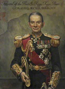 Lord Roger Keyes, Admiral of the Fleet (1872–1945)