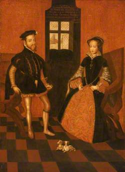 Mary I of England (1516–1558), and Philip II of Spain (1527–1598)