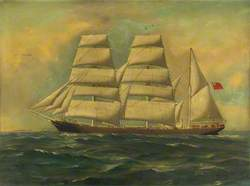 The Barque 'Charles Cotesworth'