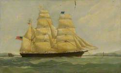 The Barque 'Clarence'