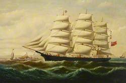 The Ship 'Eliza' in Full Sail