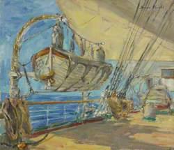 The Sail Training Barque 'Nipon Maru'