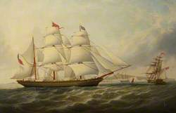 The Barque 'Queen of Penzance'