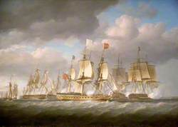 The 'Royal Sovereign' Conveying Louis XVIII to France, 24 April 1814