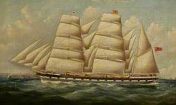 The Barque 'Scottish Prince'