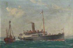 The Paddle Steamer 'Southwold Belle'