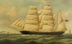 The Barque 'Windward'