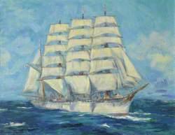The Sail Training Barque 'Nippon Maru'