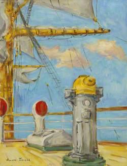 The Sail Training Barque 'Nippon Maru': Quarter Deck