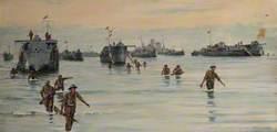 Landing at Sicily, 10 July 1943
