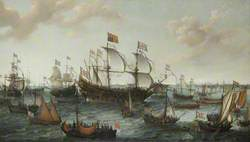 The Arrival of the Elector Palatine at Flushing, 29 April 1613