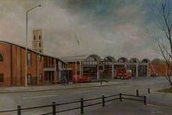 The New Mansfield Fire Station