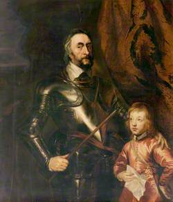 Thomas Howard (1585–1646), Earl of Arundel, and His Son Lord Maltravers (1607–1624)
