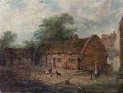 Farmyard Scene, Sutton-in-Ashfield, Nottinghamshire*