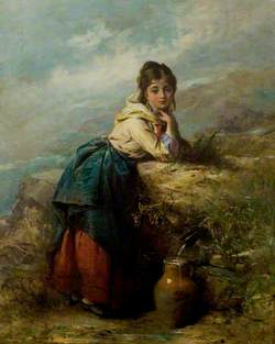A Mountain Lassie (Girl with a Water Pot)