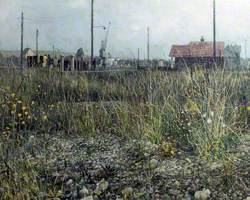 Weeds and Stones, Shoreham-by-Sea, West Sussex