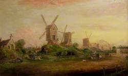 Windmills on the Forest